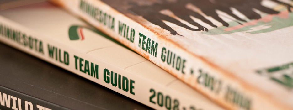 Minnesota WIld Team Guides